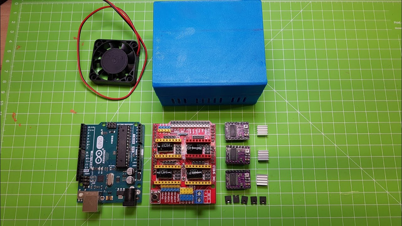 MPCNC mostly printed cnc Steuerung mit Estlcam