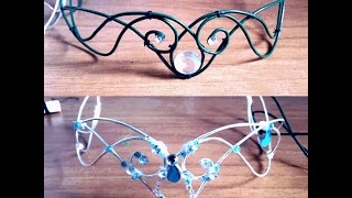 ELVEN - FAIRY CROWN (diadem) DIY (TUTORIAL)