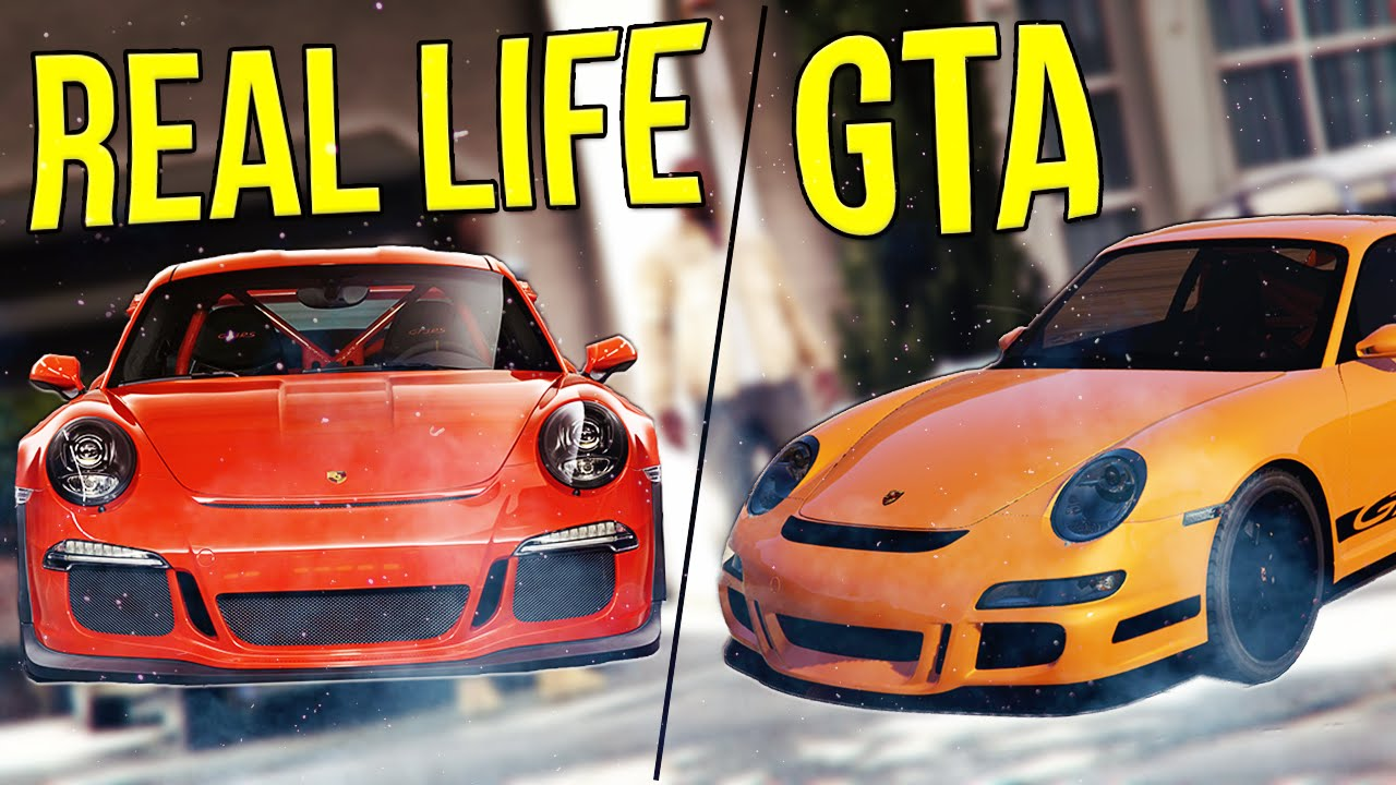 GTA 5 CAR IN REAL LIFE #3 !