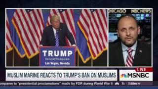 MSNBC: Ahmadiyya Muslim Marine responds to Donald Trump Ban on Muslim comments