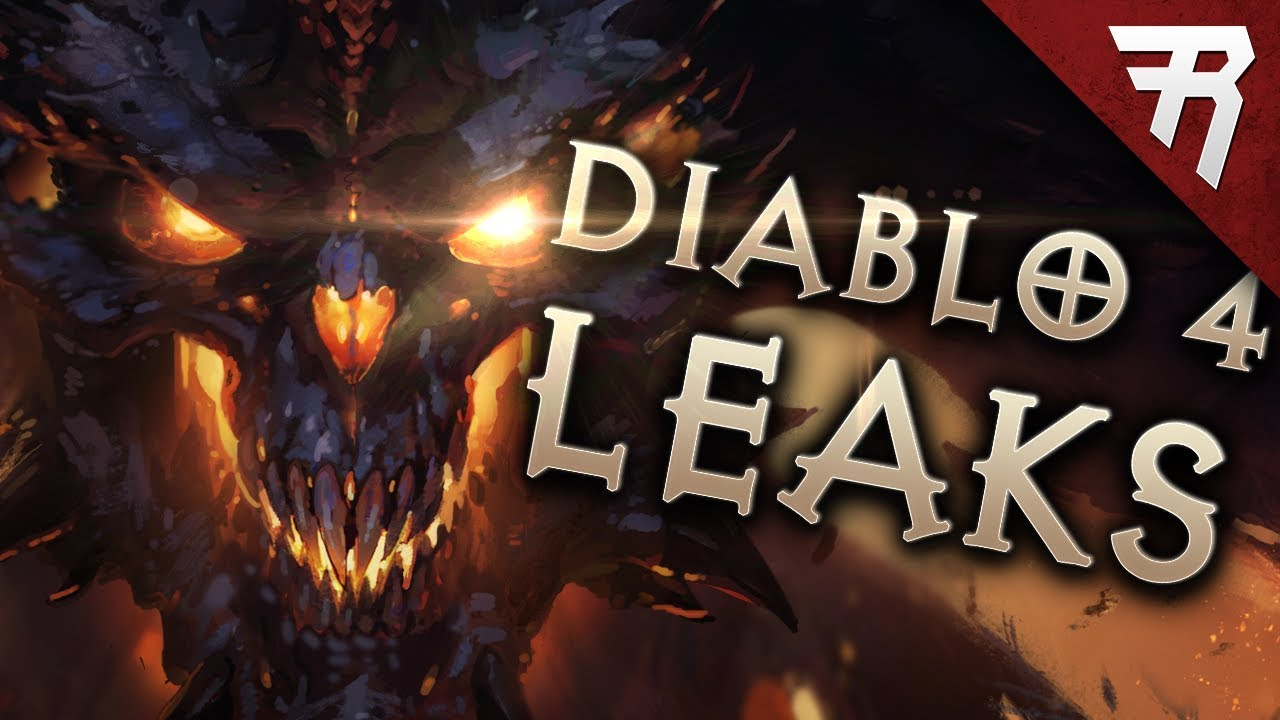 Leak Diablo 4 Embrace The Darkness Blizzcon Gameplay Demo Teaser Announcement Intended