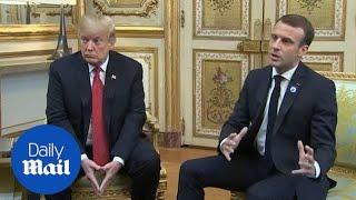 Emmanuel Macron says Europe should take on more of defence burden