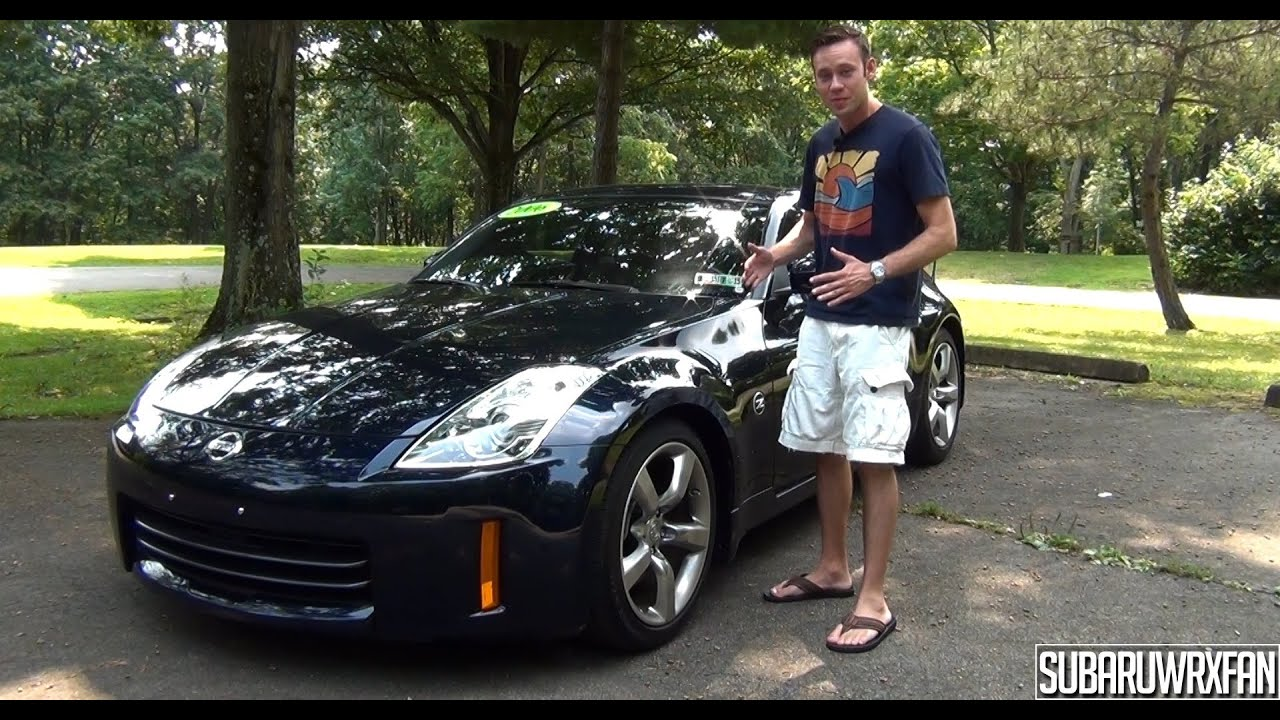 Nissan 350z Review >> Review: 2006 Nissan 350Z - YouTube