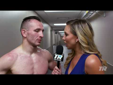 Post-Fight Interview: 'The Mean Machine'