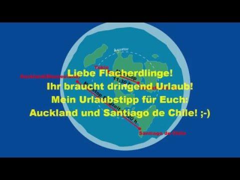 Die FLAT EARTH THEORIE anhand von 2 Flugrouten widerlegt thumbnail