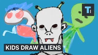 Kids explain what they think aliens will look like