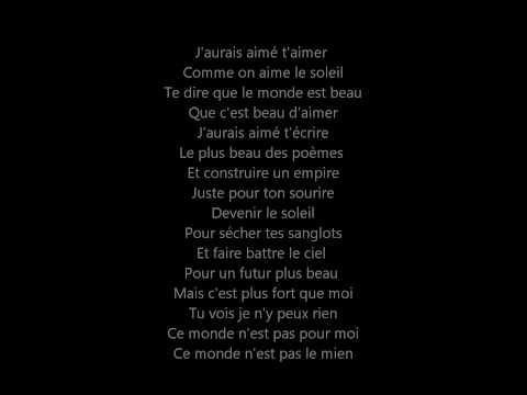 Saez - J'veux qu'on baise sur ma tombe (lyrics)