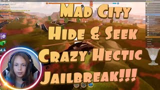 MAD CITY HIDE AND SEEK AND JAILBREAK ROBLOX LIVESTREAM!!! (W/ FACECAM)