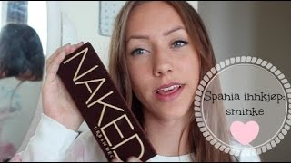 ☀︎Spania innkjøp: sminke☀︎too faced,benefit,urban decay++ Thumbnail