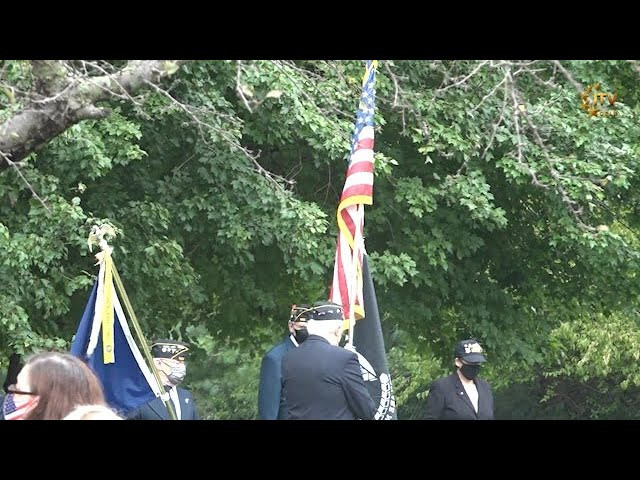 Monroe Township Honors its Residents Lost on 9/11 - Memorial Tree Park - New Jersey