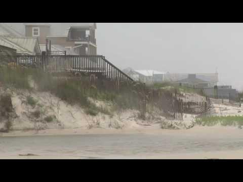 Storm Surge Wave Lifts Log, Kills Boy in Alabama