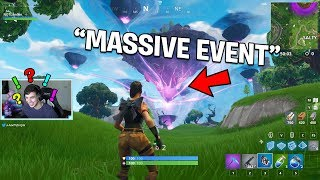 BIGGEST CUBE EVENT HAPPENING RIGHT NOW! | Fortnite Event Gameplay!