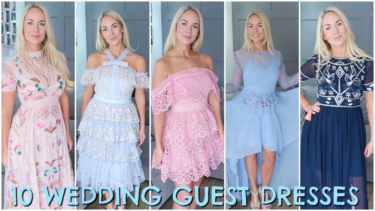10 WEDDING GUEST DRESSES 2018