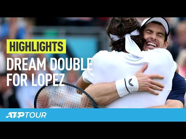 Lopez Does The Double At Queen's | HIGHLIGHTS | ATP