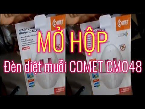 Mở hộp  đèn diệt muỗi COMET CM048 (Mua trên LAZADA.VN) by MƯỜI KHÓ