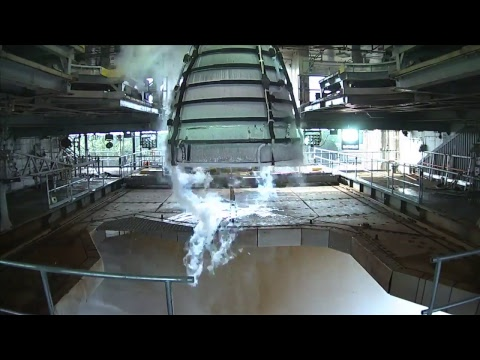 RS-25 Engines Powered to Highest Level Ever During Stennis Test [live]