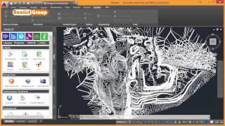 Cava: Rilievo, Modello 3D, Curve di Livello ed Animazione