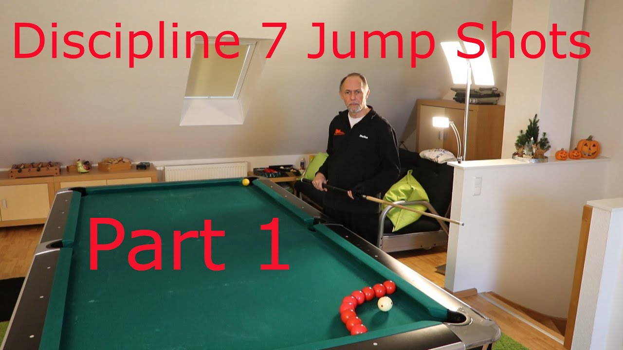 Artistic Pool Discipline 7 - Jump Shots - Part I