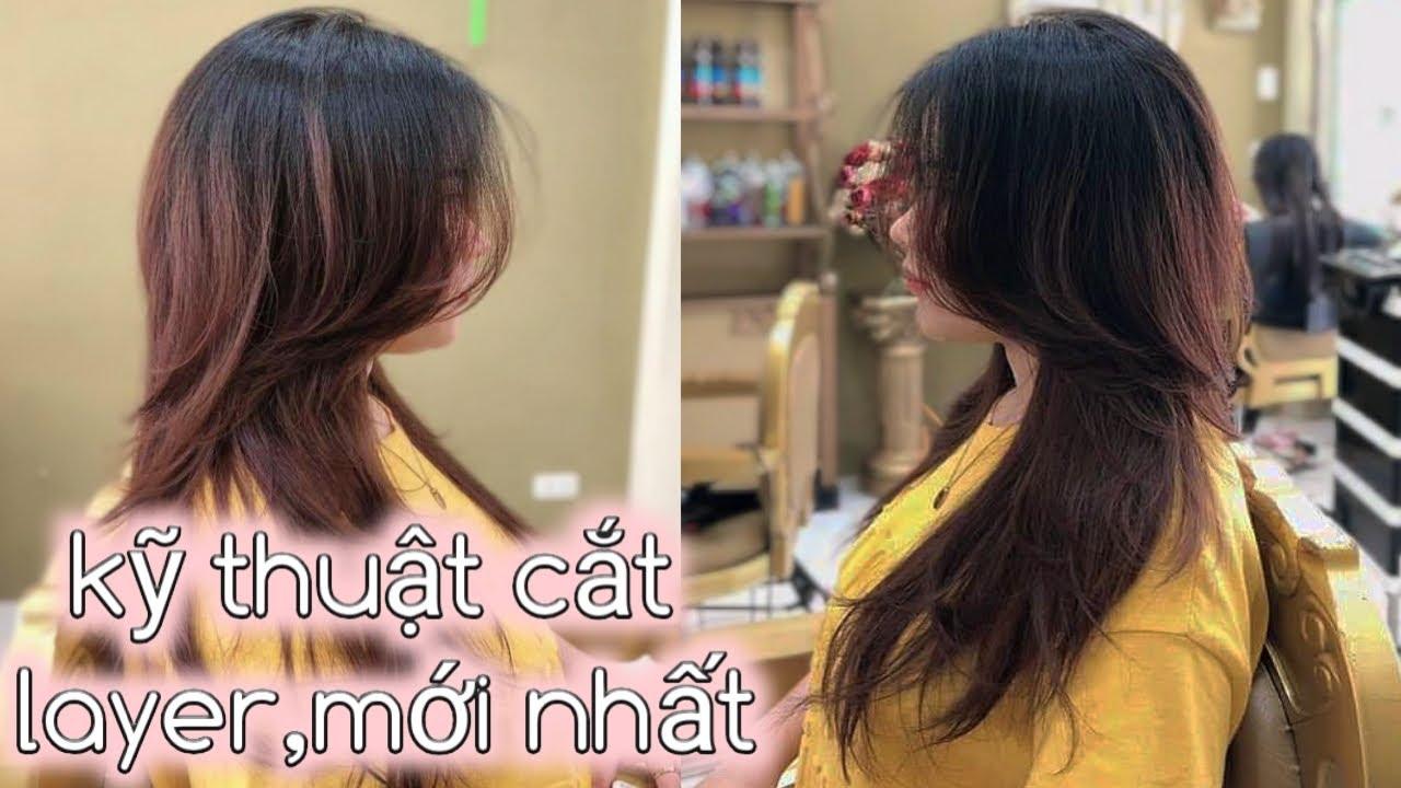 Hướng dẫn cắt tóc LAYER ĐUÔI THẢ RƠI | How To Cut Perfect Layers | Haircut Tutorial