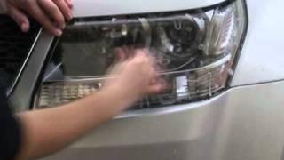 Оклейка фар защитной пленкой(Видео будет полезным дле тех, кто решил самостоятельно оклеить свой автомобиль пленкой Venture Shield . Venture..., 2011-03-14T23:01:22.000Z)