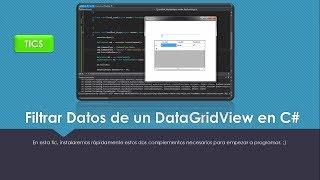 TIPS | Filtrar datos de un DataGridView en C#