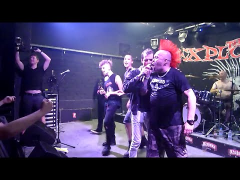 THE EXPLOITED - Fuck the USA - Live @ Zagreb - Vintage 13.07.2015