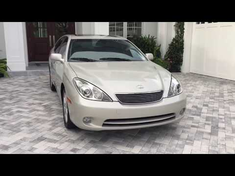 2005 Lexus ES330 Sedan with 19K Miles Review and Test Drive by Bill - Auto Europa Naples