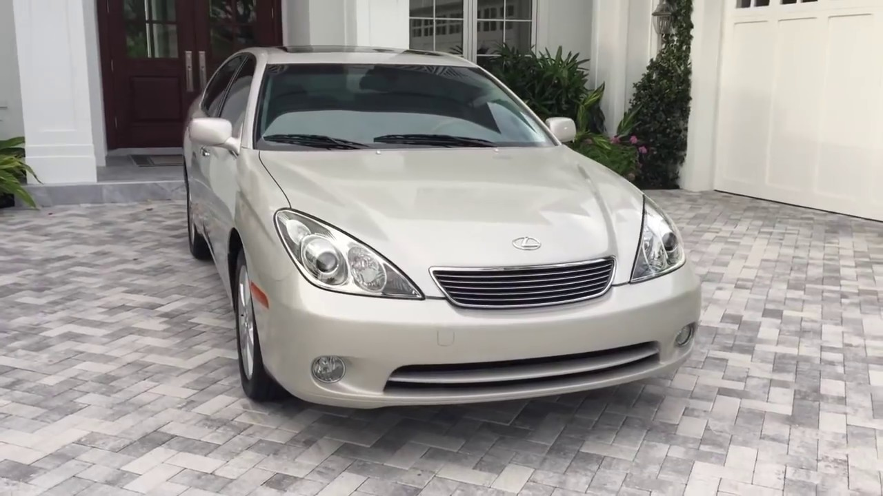 Bill Of Sale Example >> 2005 Lexus ES330 Sedan with 19K Miles Review and Test Drive by Bill - Auto Europa Naples - YouTube