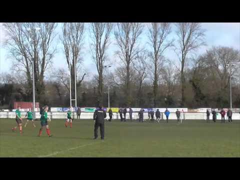 Oxford RFC v Banbury RFC (U14) Jan 2015