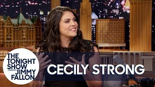 Cecily Strong Is Convinced Melania Trump Is Sending Her Secret Messages