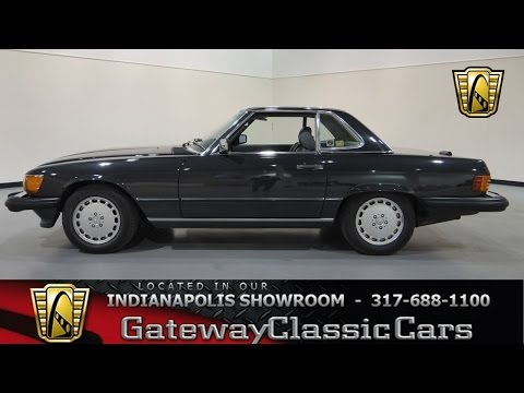 1989 Mercedes-Benz 560SL - Gateway Classic Cars Indianapolis -  #271-ndy
