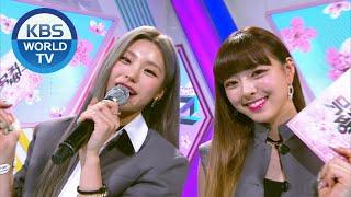 YEJI & YUNA(ITZY) [Music Bank / 2020.04.03]