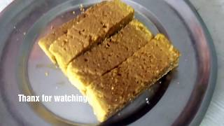 Very Quick Mysore Pak Recipe ( Within 15 min) - Indian Traditional Sweets-