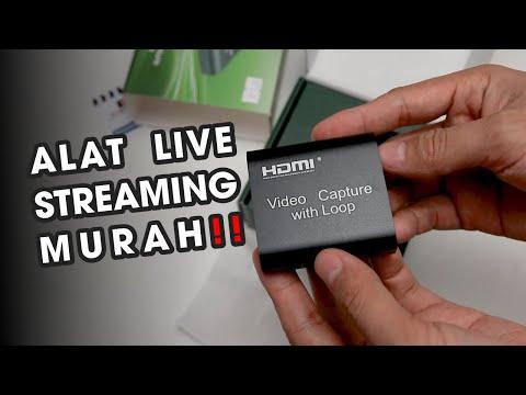 "Tes ""HDMI Capture Card with Loop Out"" Untuk Live Streaming Kamera di OBS - Alat Live Stream Murah 🔴"