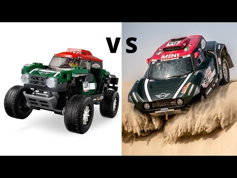 LEGO Speed Champions VS Real CARS Side By Side