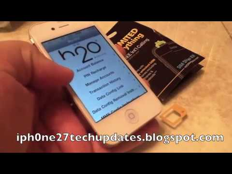 h2o Wireless iPhone 4S iPhone 4 Tips and Tricks w/Link ... H2o Wireless Iphone