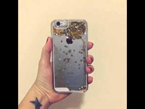 quicksand glitter iphone case - YouTube e13c7a1bf4
