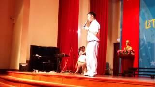 Bài phát biểu xúc động của Nam Long - đại diện học sinh khối 12