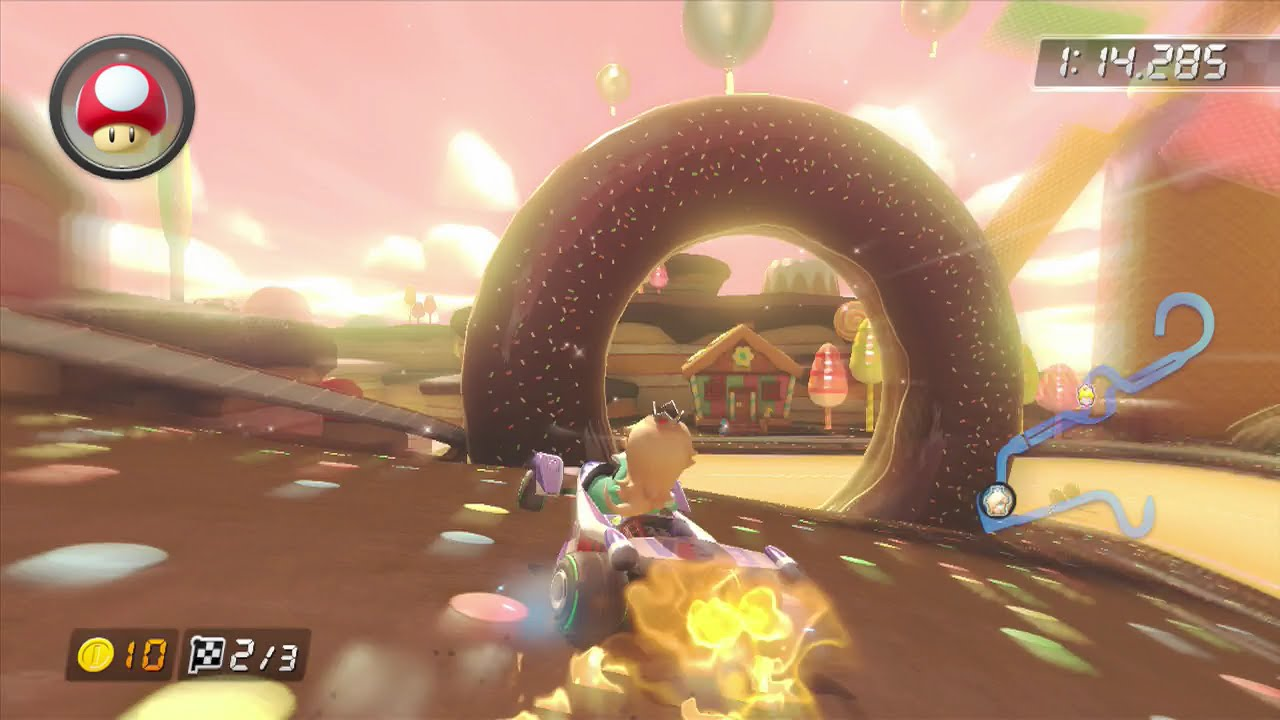 Mario Kart 8 - Cake Way (Custom Soundtrack Test)