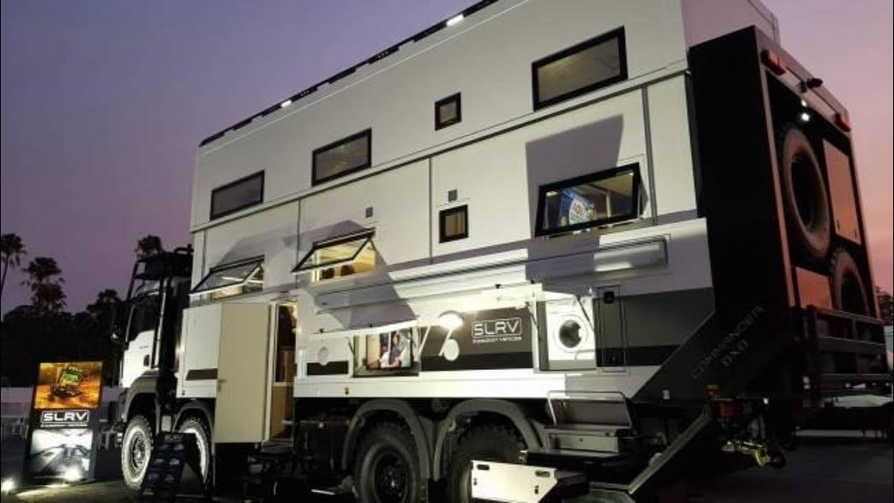 Million dollar 'apocalypse-grade' motorhome created for family during pandemic