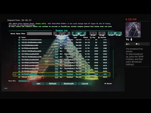 Ark recruiting new members [new tribe]PS4 - YouTube