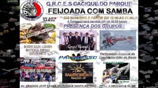 Baixar Spot Comercial DIA 03/08 SÁBADO 2º FEIJOADA DO CACIQUE