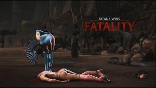 Mortal Kombat X: Kitana - Klassic Fatality - Decapitation