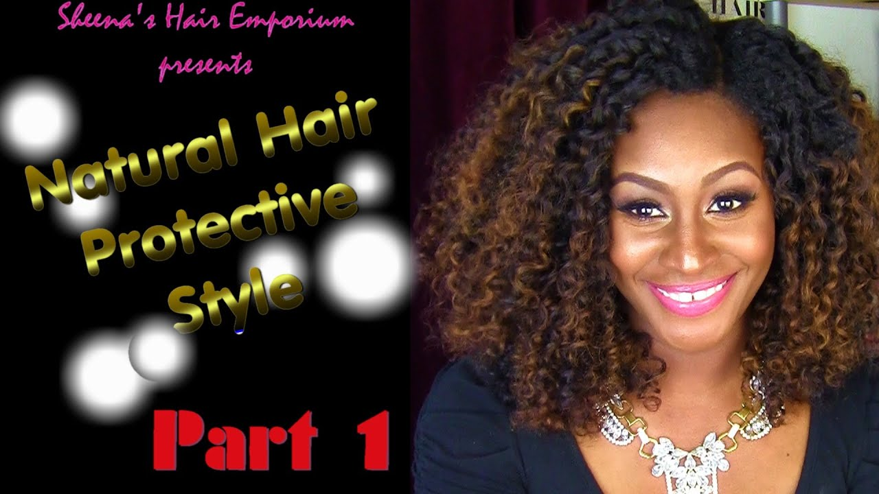 Curly Girls Have More Fun Natural Hair Protective Style