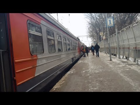 ЭД4М-0227, маршрут: Монино - Москва