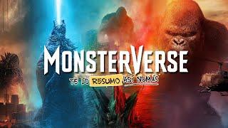 Monsterverse #GodzillaVsKong | #TeLoResumo