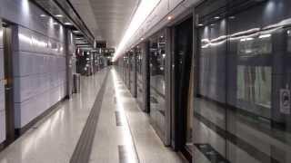 MTR K-train: Departure from Lohas Park (康城站開出)