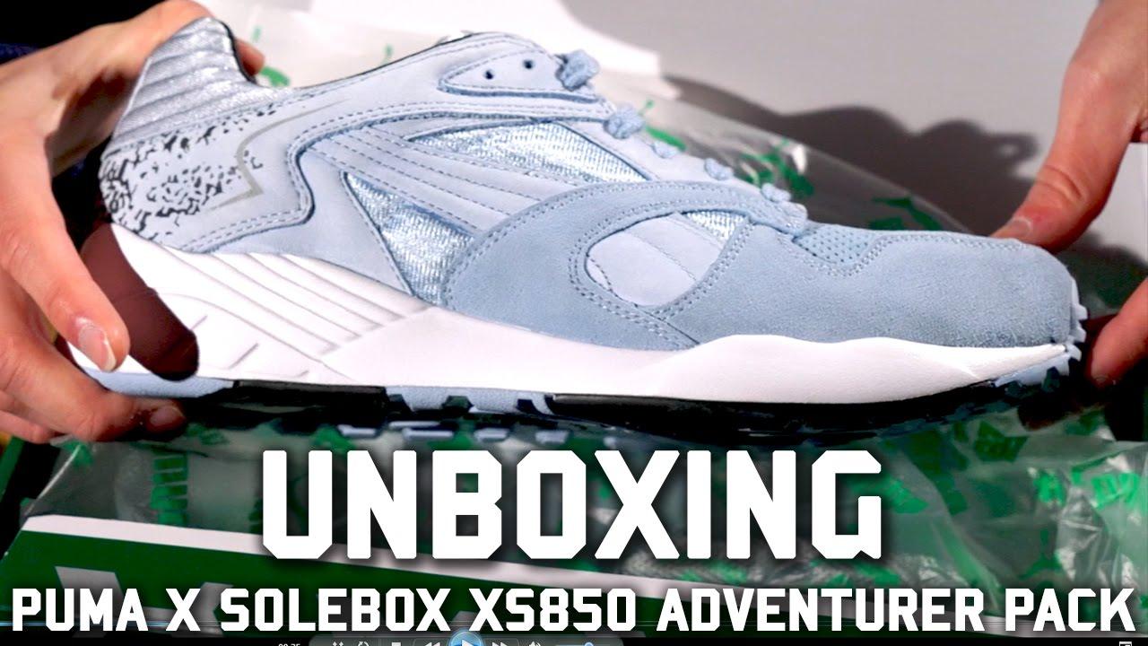 8c82b837f04f Puma x SoleBox XS850 Adventurer Pack Unboxing - YouTube