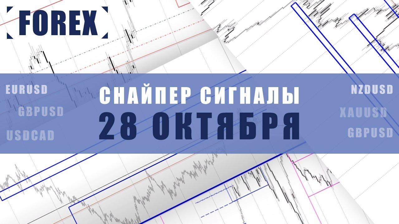 СИГНАЛЫ СНАЙПЕР НА 28 ОКТЯБРЯ  | Трейдер Ян Сикорский