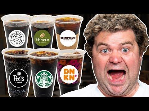 Cold Brew Coffee Taste Test